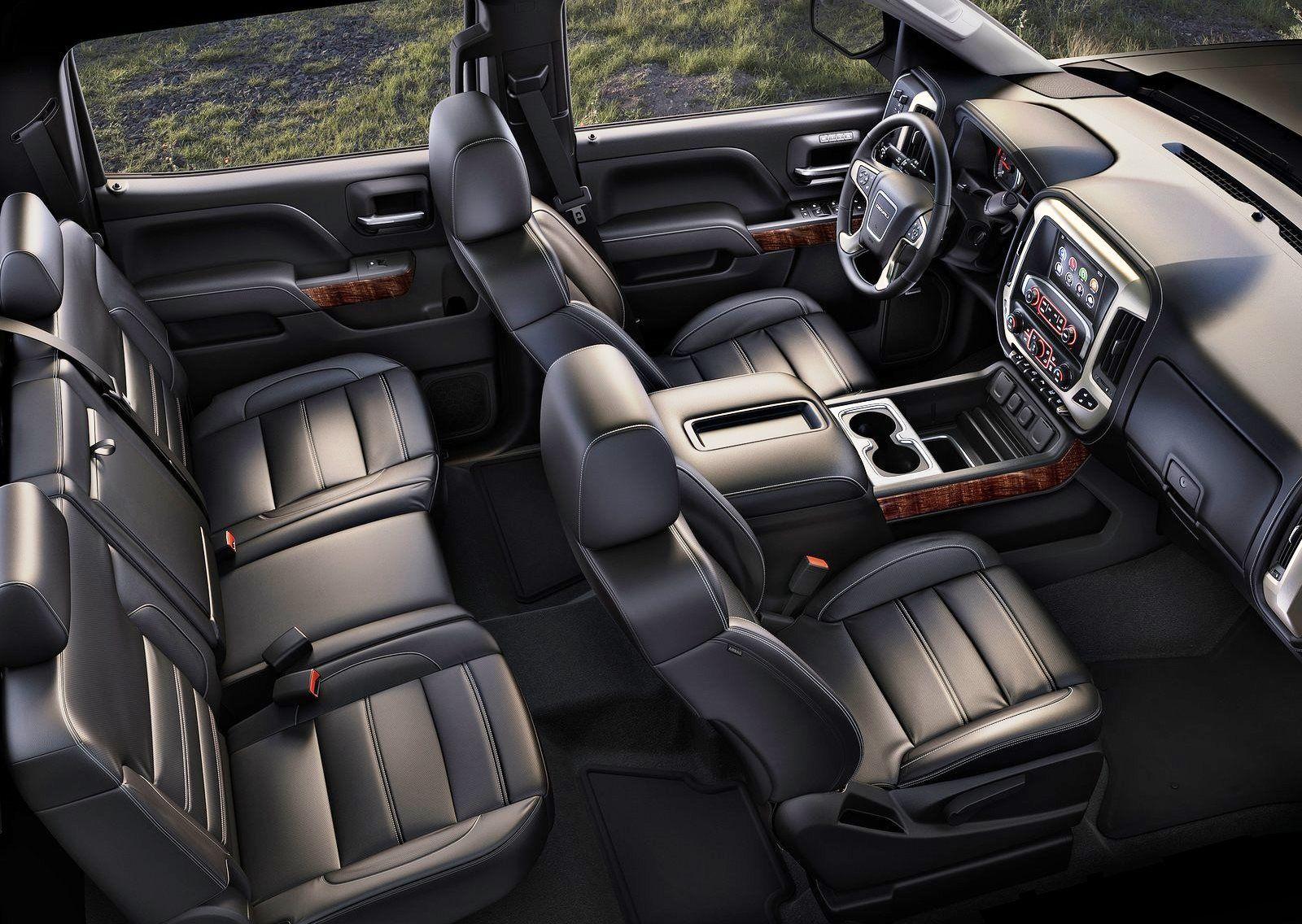 2015 gmc sierra hd interior