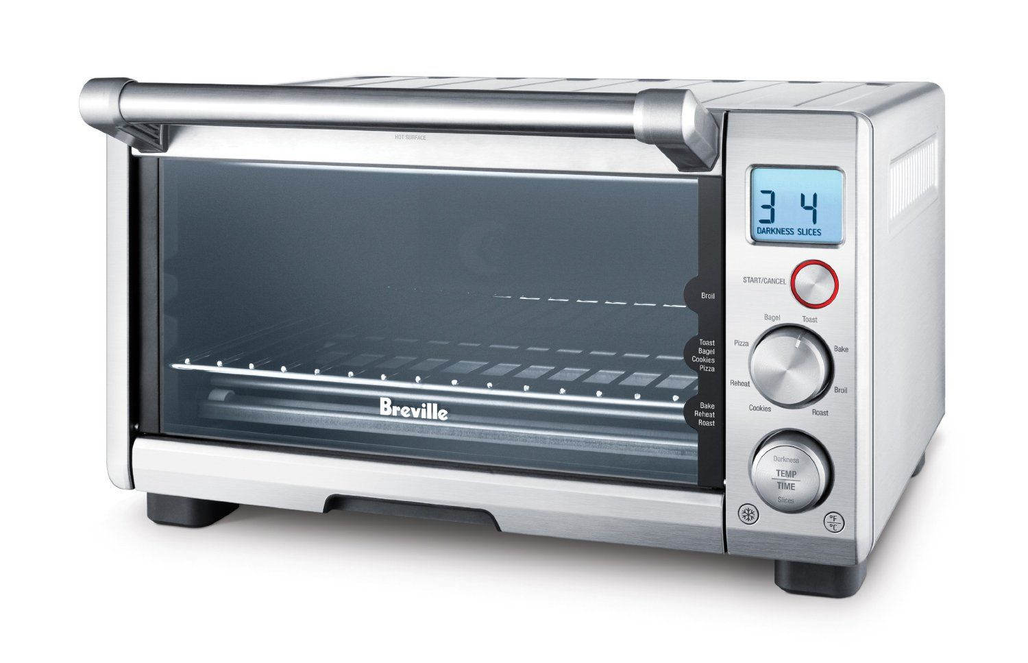 Breville Bov650xl The Compact Smart Oven Stainless Steel Click Image For More Details Breville Toaster Oven Smart Oven Breville Toaster