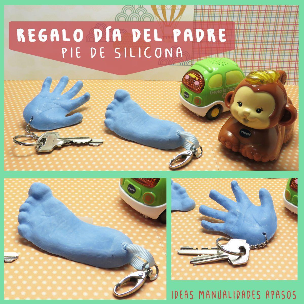 Regalo Dia Del Padre Pie Y Mano De Silicona Regalo Dia Del Padre