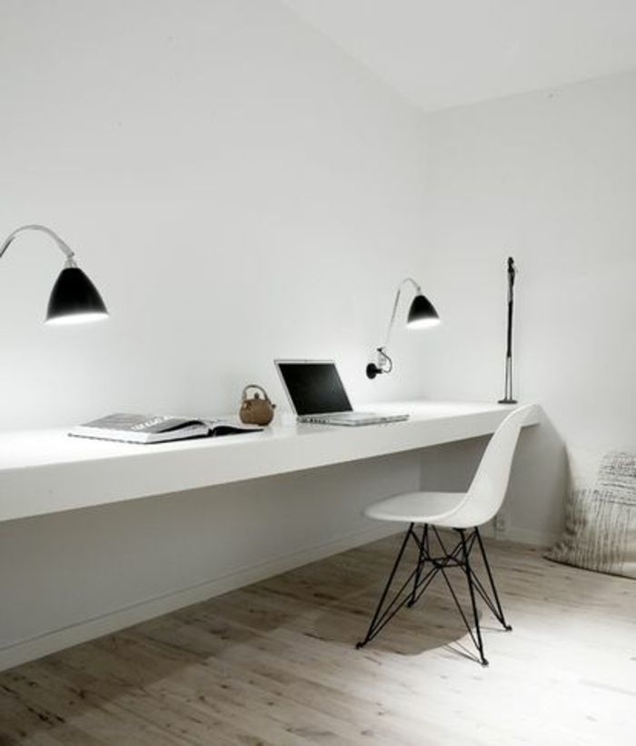 Beaucoup De Rangements En Photos Pour Un Bureau Feng Shui Bureau Suspendu Bureau Design Fauteuil Bureau Design