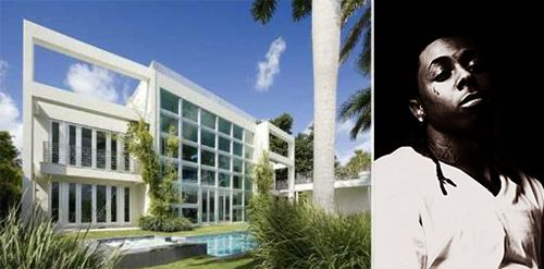 Lil Wayne Heaps Millions On Mortgage Following Irs Troubles Miami Beach Mansion Celebrity Houses Celebrity Real Estate