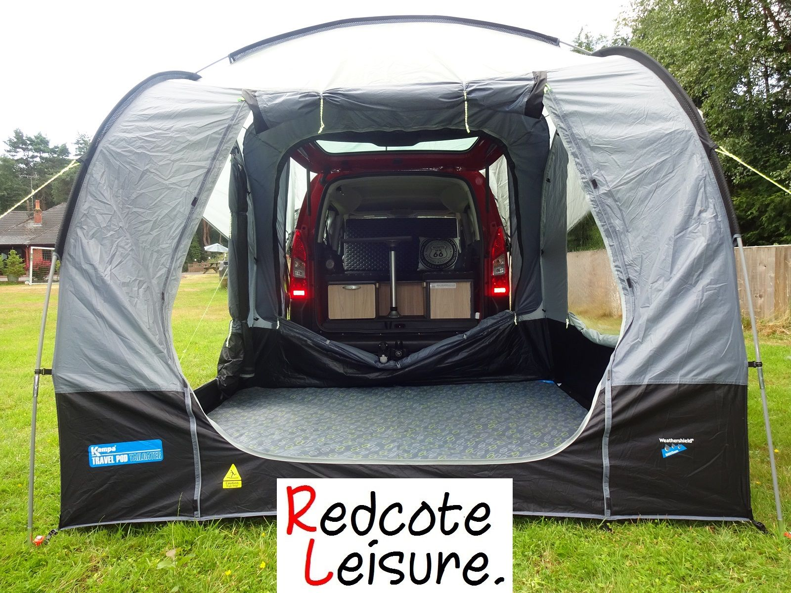 Kampa Travel Pod Tailgater on a Citroen Berlingo Micro ...