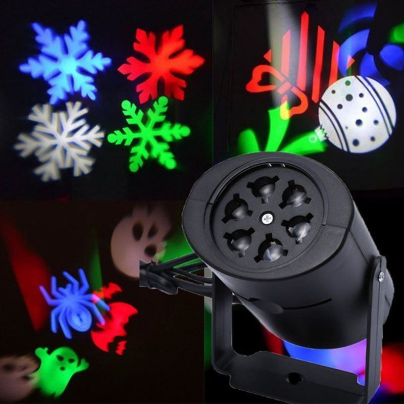 12 39 Aud Outdoor Led Laser Snowflake Moving Light Xmas Party Garden Landscape Projector E Led Stage Lights Laser Lights Projector Christmas Lamp
