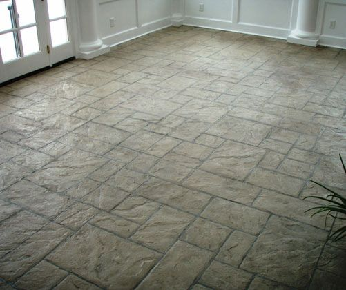 Stamped Concrete Interior Floors : Stamped concrete interior floors