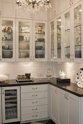 I Love butlers pantries,  South Shore Decorating Blog