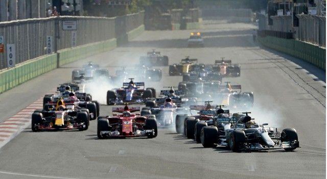 There Was Plenty Of Drama On Sunday At The 2017 Formula One Azerbaijan Grand Prix In Baku Despite It A Azerbaijan Grand Prix Australian Grand Prix Formula One