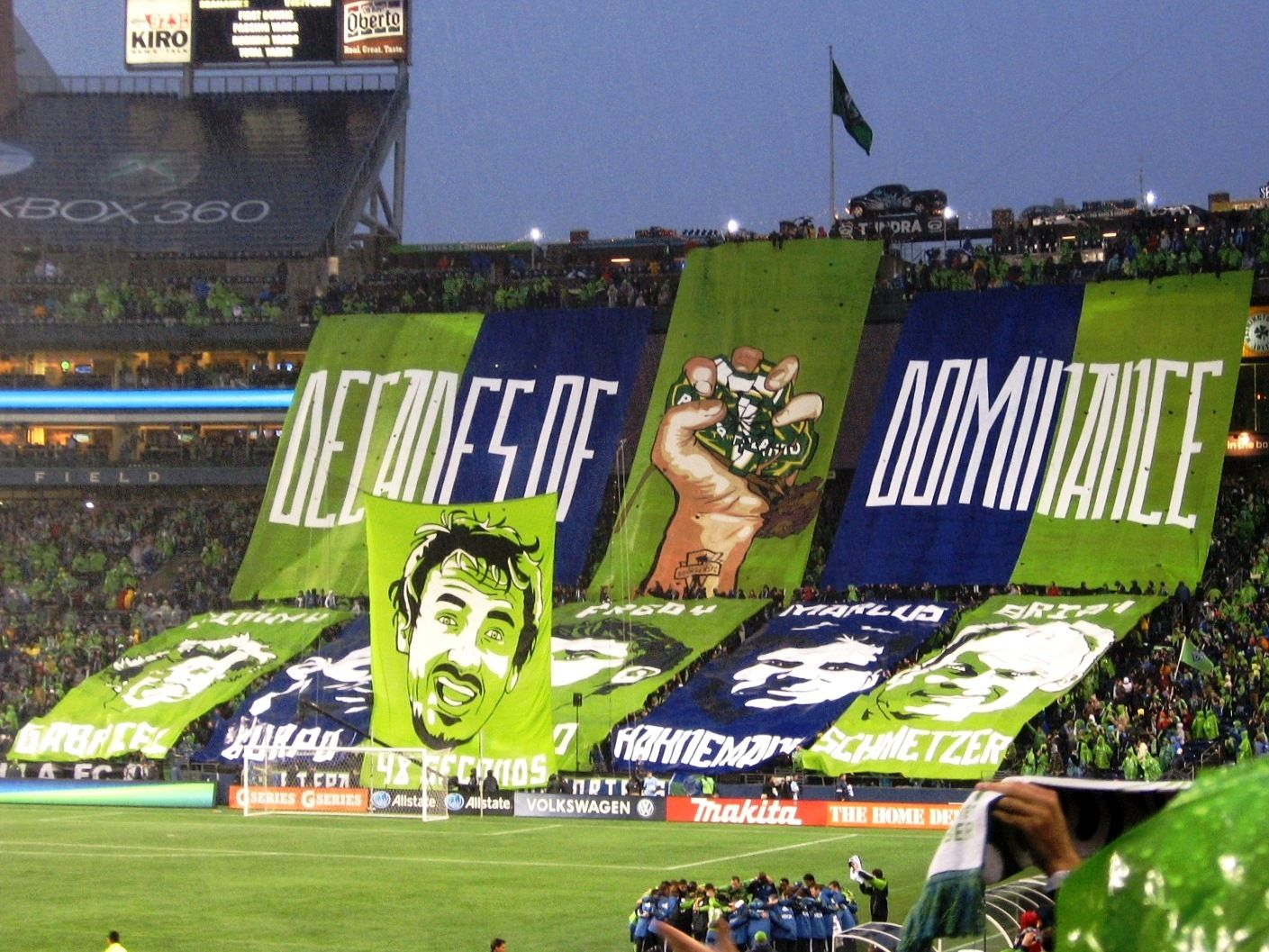 Decades of Dominance Seattle Sounders vs. Portland