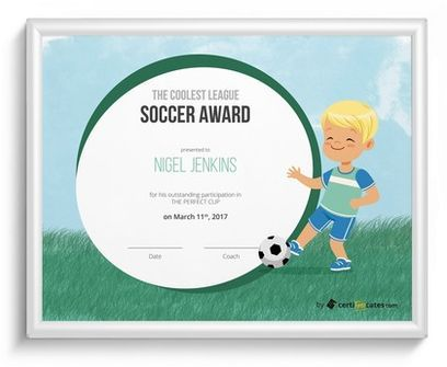 Free Kids Certificate Templates For Word  Certificate And Template