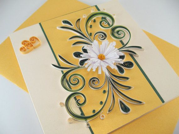 Quilling Valentine Card Handmade Greeting Card For Valentine Day