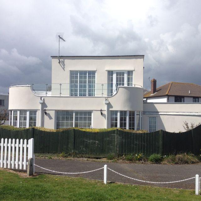 Art Deco House: Art Deco House, Walton-on-the-Naze