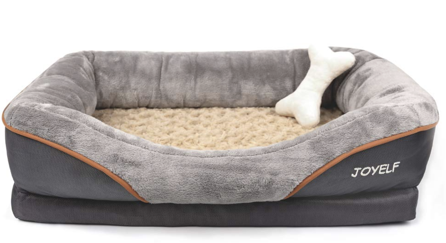Large Memory Foam Dog Bed Orthopedic Dog Bed Sofa With Removable Washable Cover Joyelf In 2020 Orthopedic Dog Bed Dog Sofa Bed Cool Dog Beds