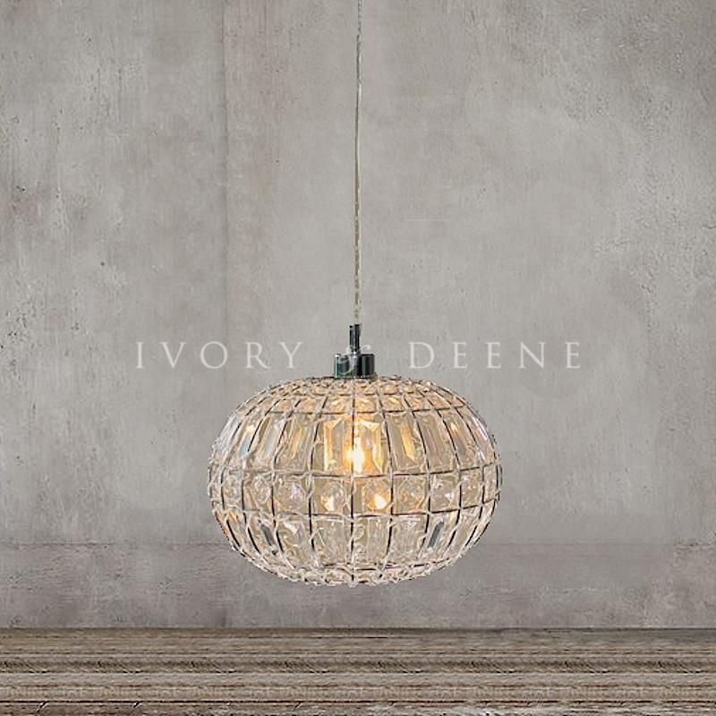 Lily Pendant Light Round Pendant Light Pendant Light Crystal