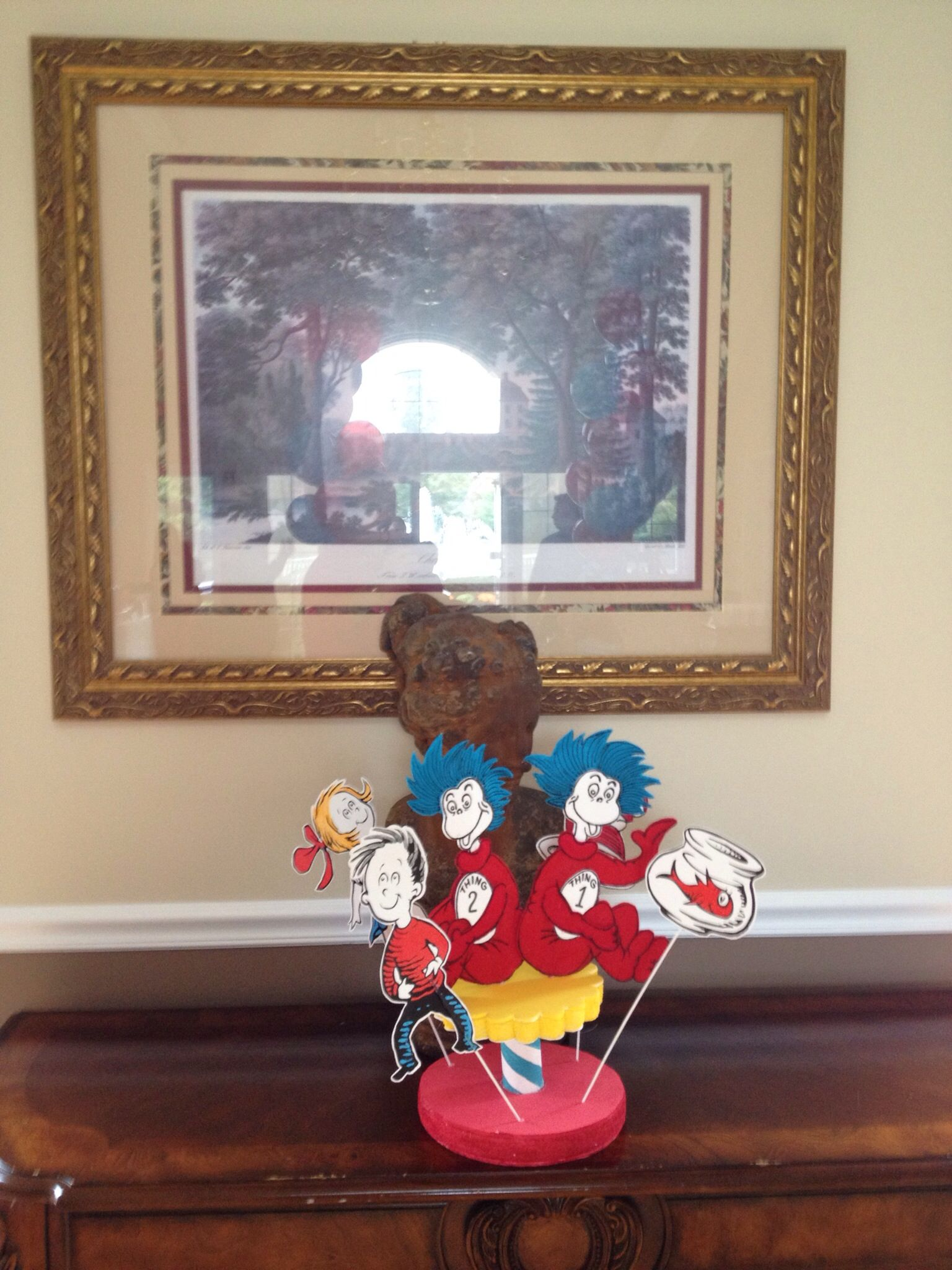 Pin On Twins Thing 1 And Thing 2 Birthday Party