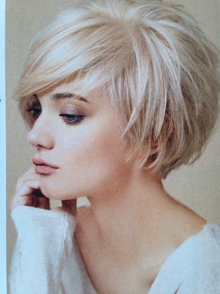 Thin Hair Cuts Short Woman Short Hair Cuts Hair Styles For Short Hair Bob