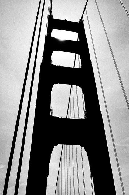 Golden Gate Silhouette