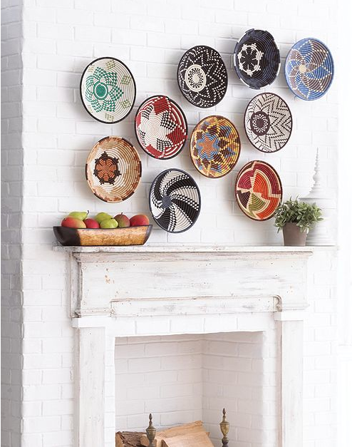 25 Fabulous Wall Plates Ideas Decor Baskets On Wall