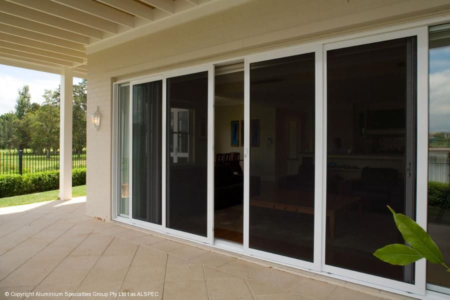 Invisi Gard Sliding Doors Sliding Screen Doors Patio Screen Door Custom Patio Doors