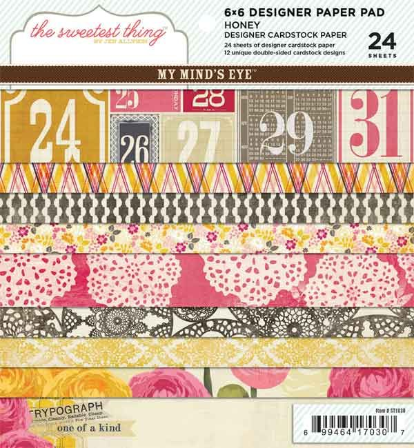 Scrapbooker's Paradise Ponderings: NEW from My Mind's Eye