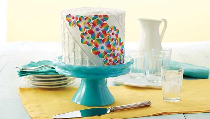 Wilton Course 2: Flowers & Cake Design | Cake Decorating ...