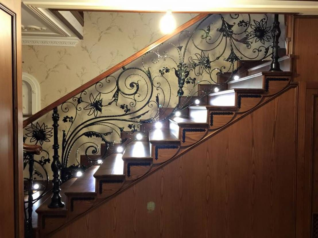 Barandales de herrer a para lucir tu escalera al m ximo - Barandales modernos para escaleras ...
