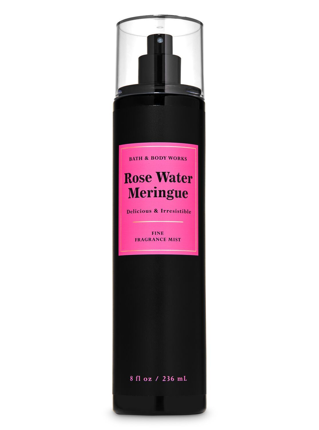Rose Water Meringue Fine Fragrance Mist Bath Body Works Rose