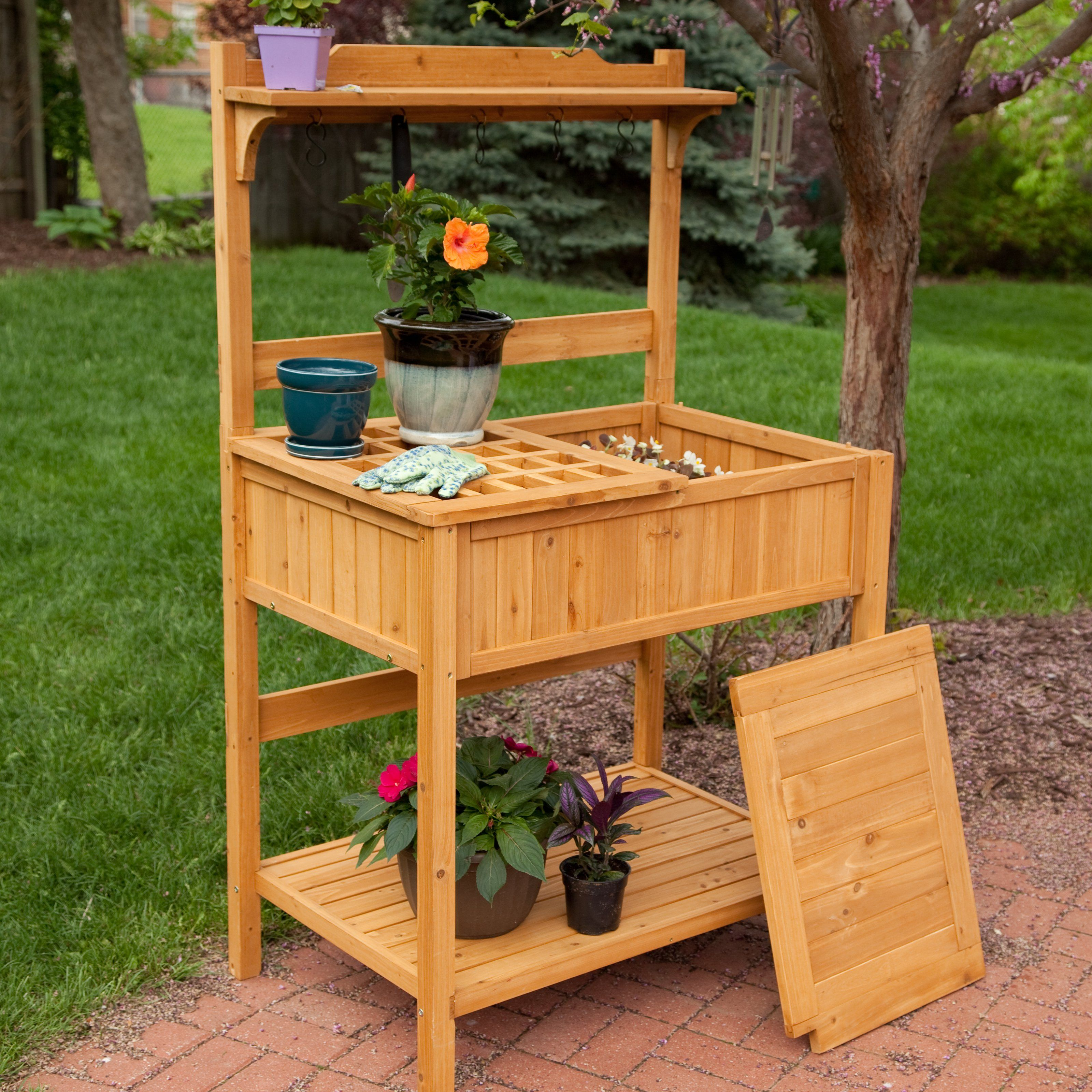 Fabulous Potting Bench Design Ideas Bench Pinterest Bench