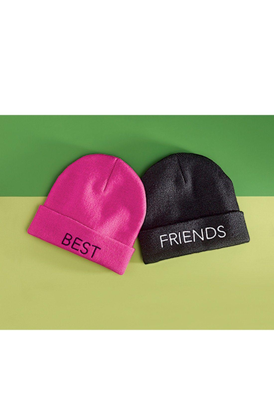 e8a0a4a0 Beanie for your bestie. | Holiday | Beanie, Cute beanies, Cute outfits