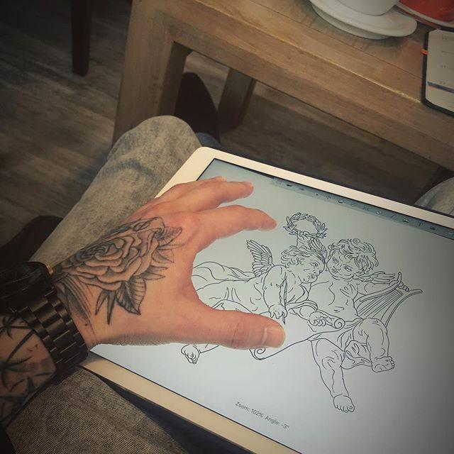 Getting Some Designs Drawn Up Tattoo Sketch Work Design Matt
