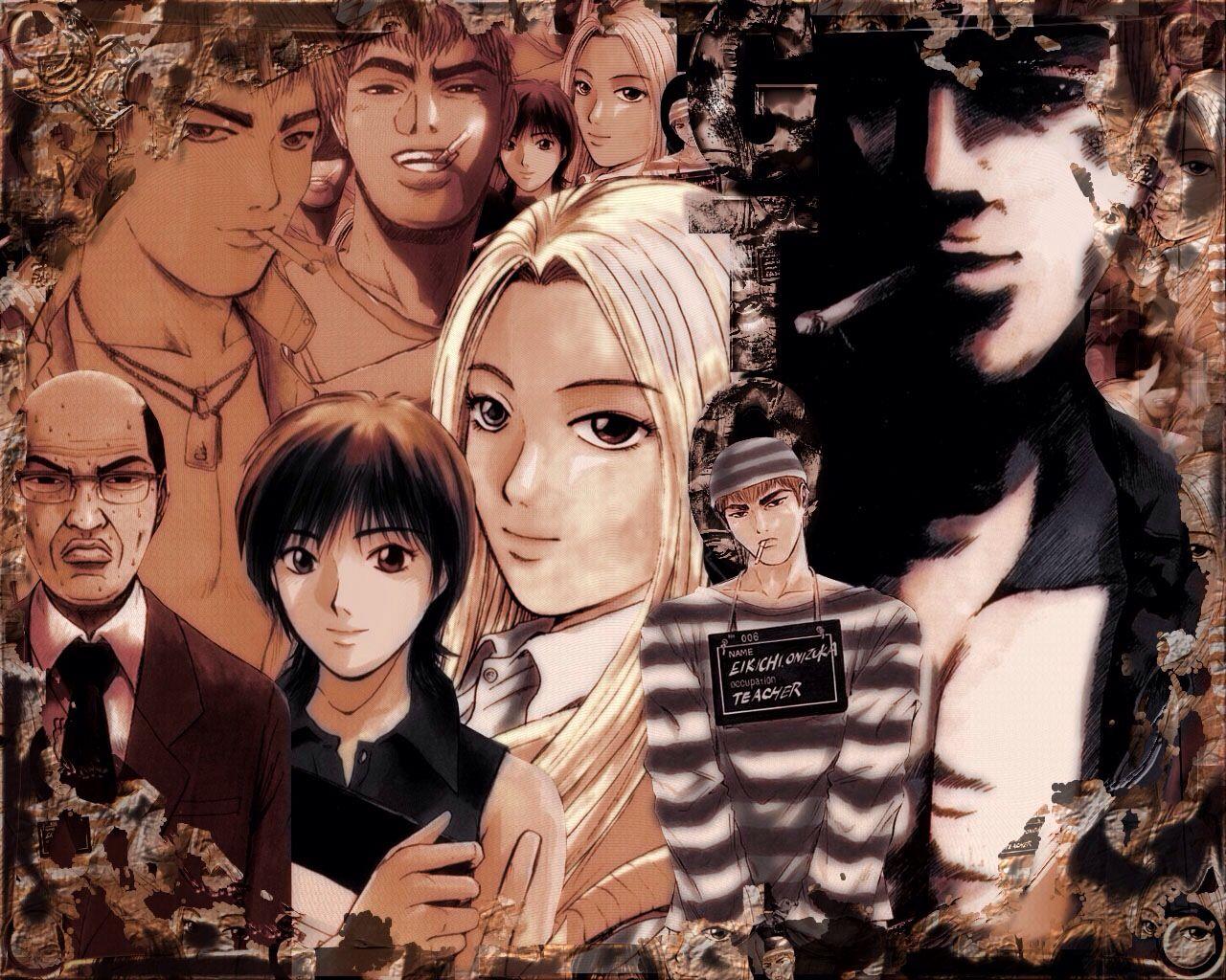 Gto Great Teacher Onizuka Great Teacher Onizuka Anime Anime Wallpaper