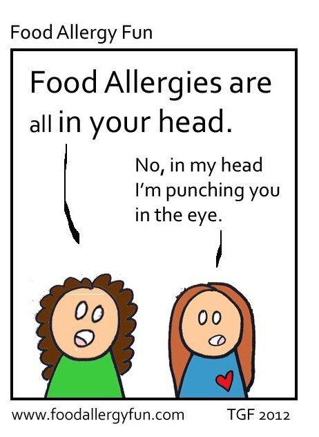 Nut allergy dating