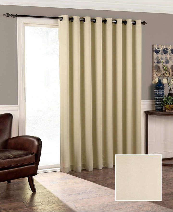Eclipse Tricia Thermapanel Room Darkening Door Panel 100 X 84 Reviews Window Treatments Blinds Macy S V 2020 G Shtory