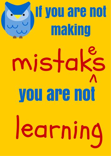 Growth Mindset Posters by heelis - Teaching Resources - TES