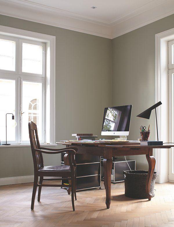Elegantes arbeitszimmer inspiration arbeitszimmer in 2018 pinterest arbeitszimmer - Wandfarbe arbeitszimmer ...