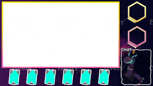 Have2fate I Will Design A Professional Temtem Stream Overlay For 20 On Fiverr Com Overlays Display Banners Streaming