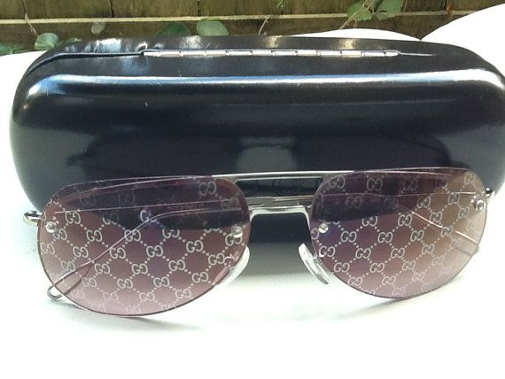 b4e421d4a4b GUCCI Authentic MONOGRAM Hologram Lenses by EclecticalVintage ...
