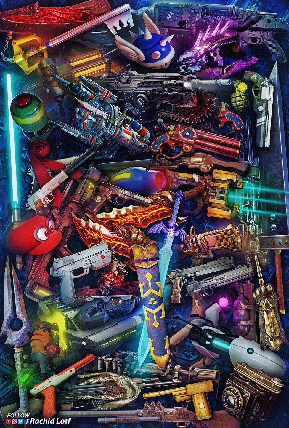Weapon Crate In 2020 Game Wallpaper Iphone Retro Gaming Art Best Gaming Wallpapers