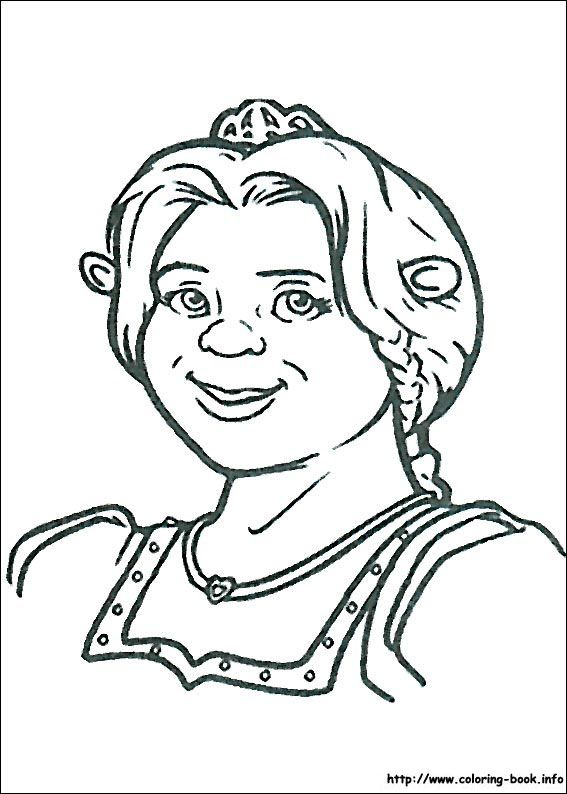 Shrek coloring picture Coloring Pages and books For All Ages
