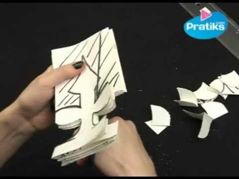 Comment faire une couronne en papier. epiphanie