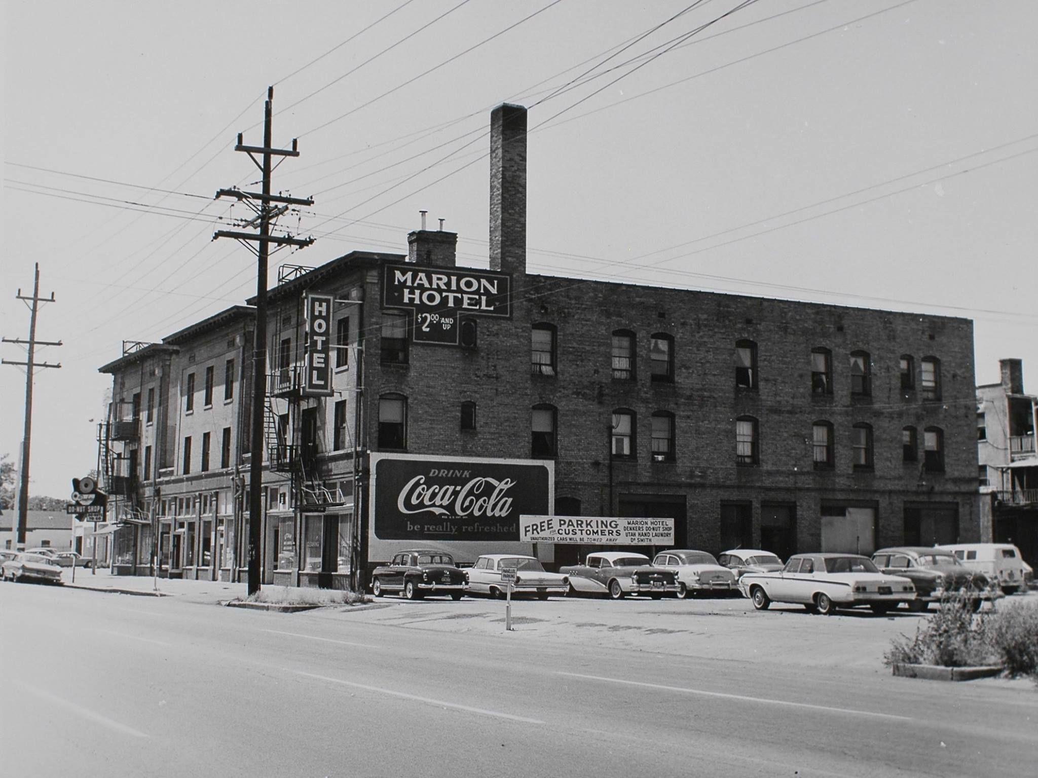 Marion Hotel 184 25th St Circa 1964 Ogden Ut Ogden Utah Street