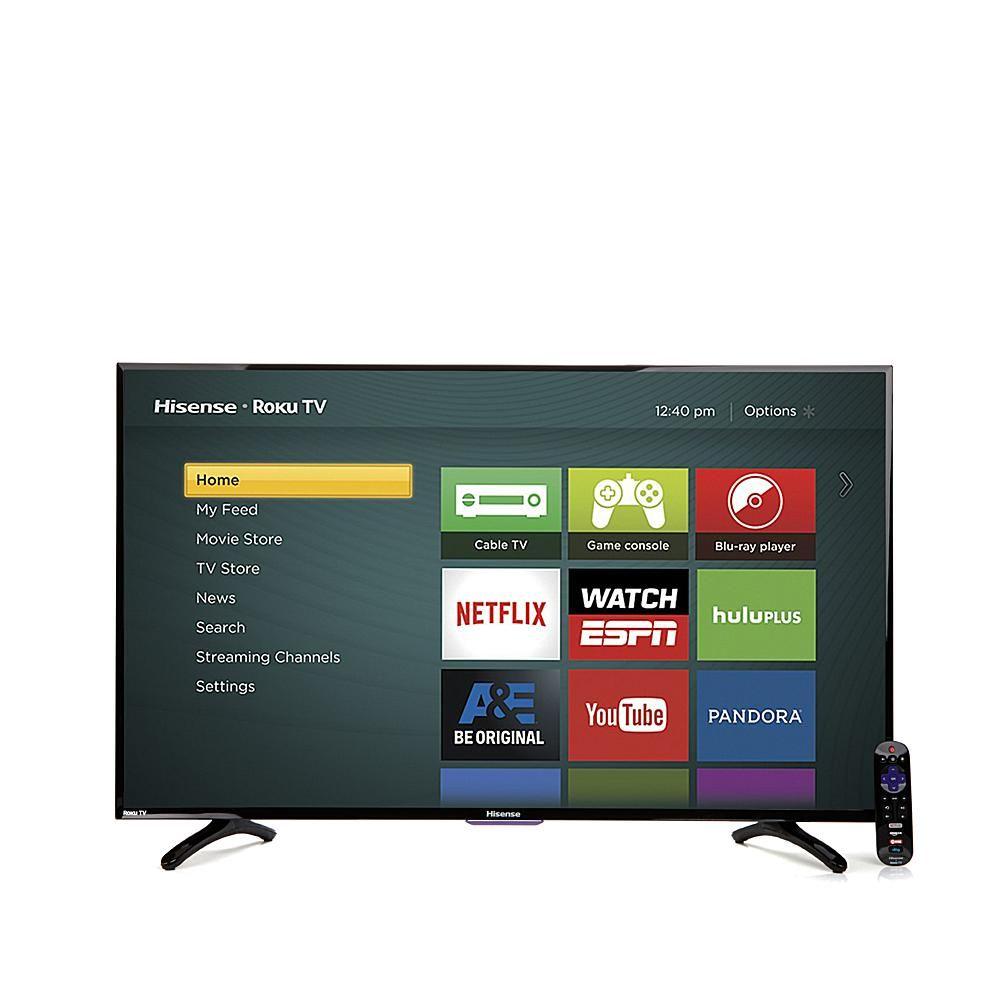 "Hisense 32"" Smart LED HDTV with BuiltIn Roku, 30Day"
