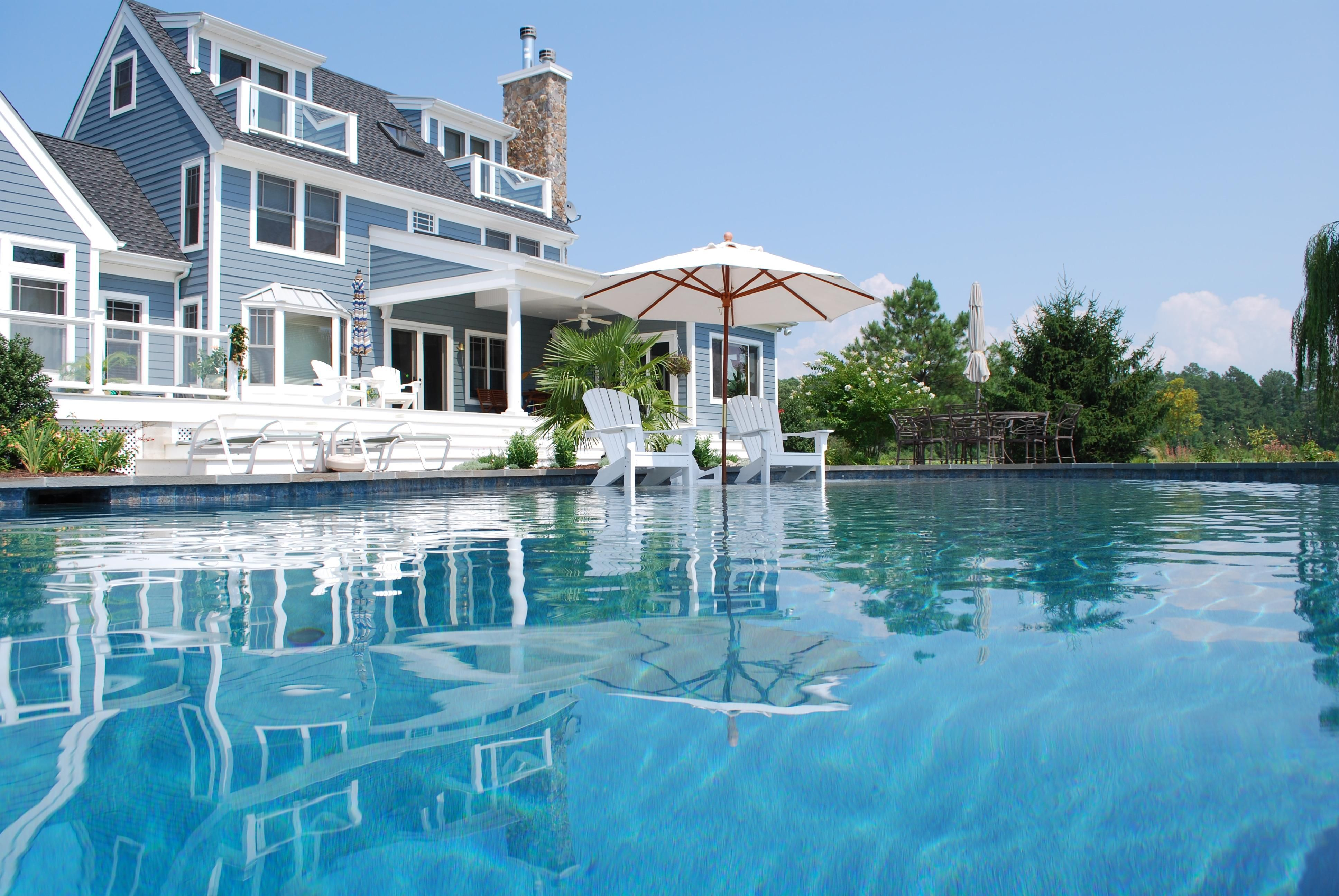 Custom Pool From Aqua Pools Spas In Easton Maryland Characters Letting Go The Ss Women S Fiction Contemporary Romance Could Find