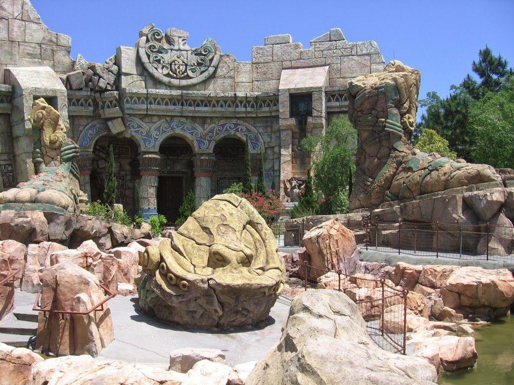 Miquelli's Amerikablog: Themepark attractie: Poseidon's Fury, Islands of A...