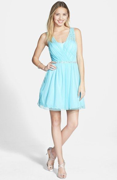 d9742960b Speechless Beaded Tulle Party Dress (Juniors) available at #Nordstrom