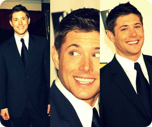 Jensen red carpet