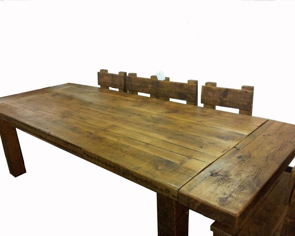 Kensington Reclaimed Wood Dining Table