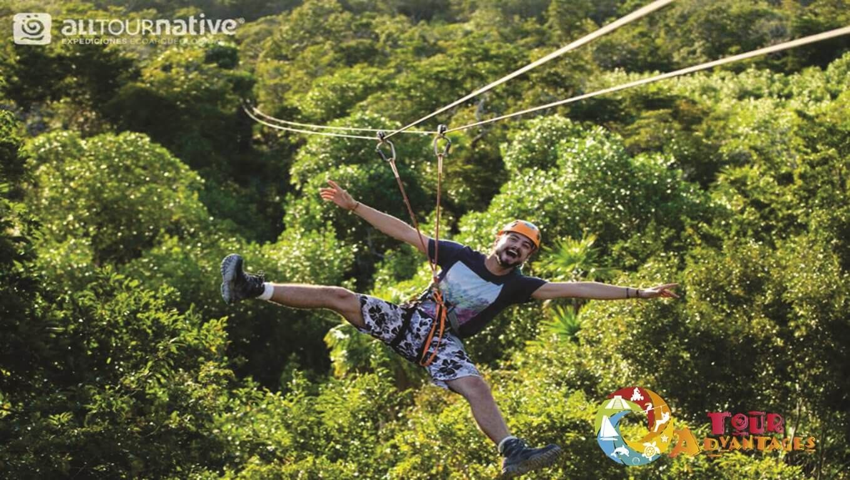 tour advantages , tour tulum coba maya village , tour in