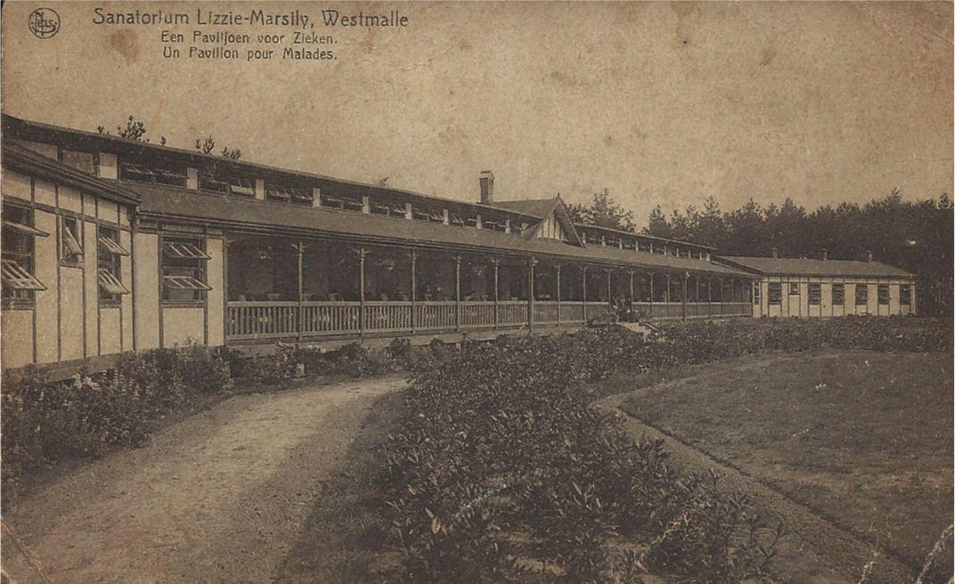 Westmalle. Sanatorium. Een paviljoen voor de zieken.