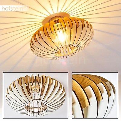 Holz Effekt Leuchte Retro Decken Lampe Flur Dielen Wohn Schlaf Zimmer Innen Raum Lampe Flur Lampe Deckenleuchten Design