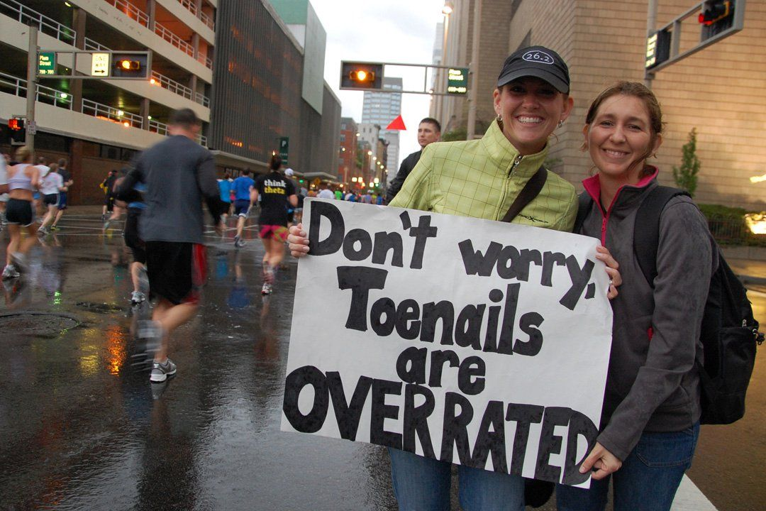 Lovely Marathon Sign Marathon Signs Funny Running Humor Funny Marathon