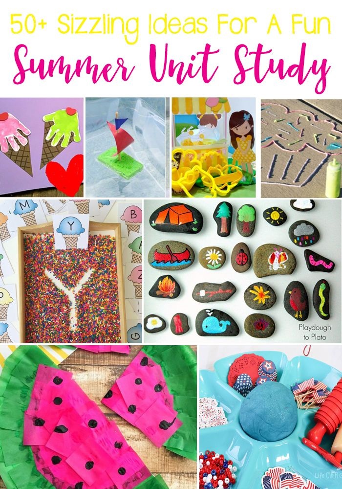 50 Sizzling Ideas For A Super Summer Themed Unit Study Summer